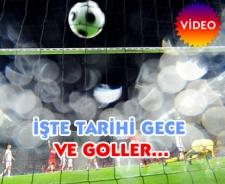 Türkiye Çek Cumhuriyeti maçı golleri