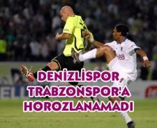 Denizlispor Trabzonspor'a horozlanamadı: 0-1