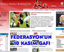 Futbol Federasyonu Atatürk'ü unuttu