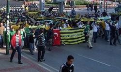 Ankaragücü taraftarı istifayı kutladı