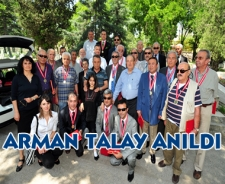 Arman Talay anıldı