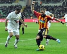 Eskişehirspor Kayseri'de galibiyeti kaçırdı: 2-2