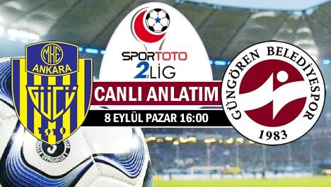 Ankaragücü - İ.Güngören maçı Klasspor'da....
