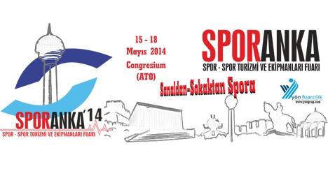 Türkiye'nin en kapsamlı spor fuarı Ankara'da...