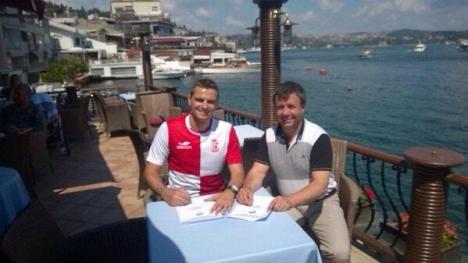 Ante Kulusic, Balıkesirspor'a imza attı..