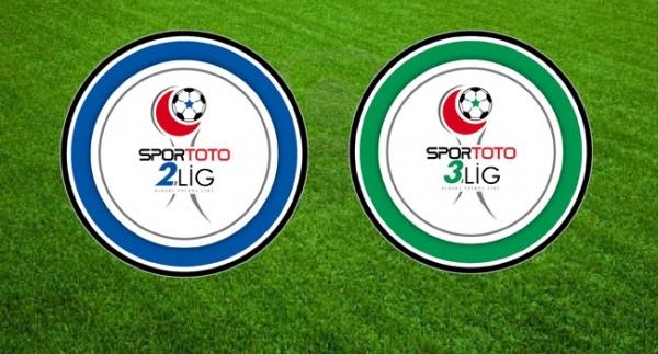 2 ve 3. Lig'de haftanın maçları...