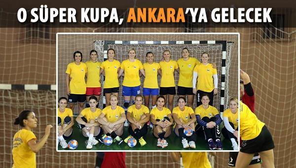 Yenimahalle Belediyespor, Süper Kupa için sahada