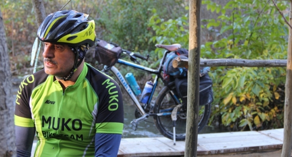Bisikletle 100 bin kilometre yol
