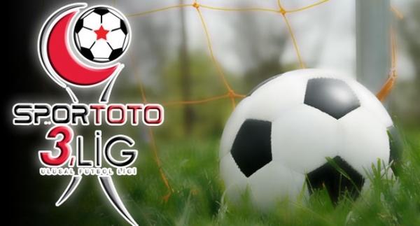Spor Toto 3. Lig'de toplu sonuç