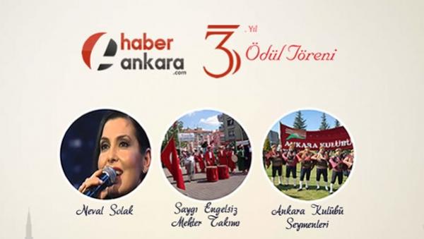 Haber Ankara ödülleri sahiplerini buluyor
