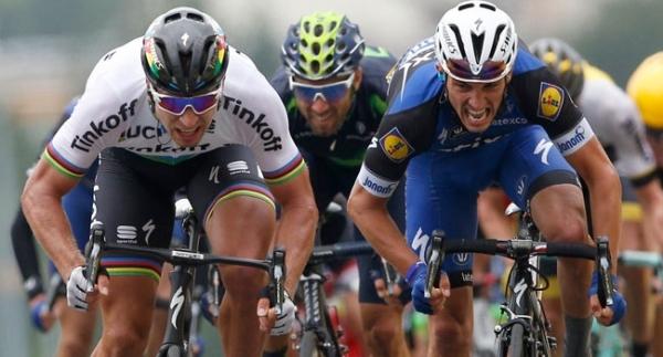 Fransa'da 2. etap Sagan'ın