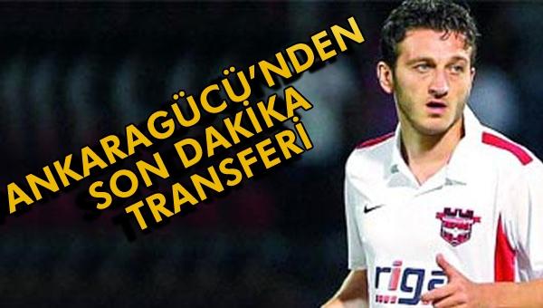 Ankaragücü'nde son dakika transferi...