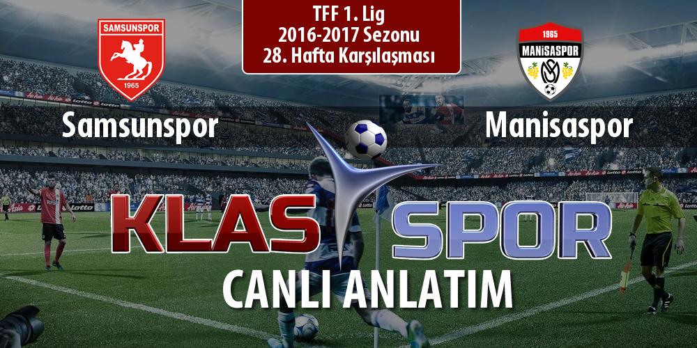 Samsunspor - Manisaspor sahaya hangi kadro ile çıkıyor?