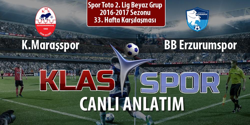 İşte K.Maraşspor - BB Erzurumspor maçında ilk 11'ler