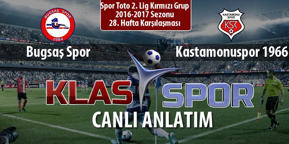 İşte Bugsaş Spor - Kastamonuspor 1966 maçında ilk 11'ler