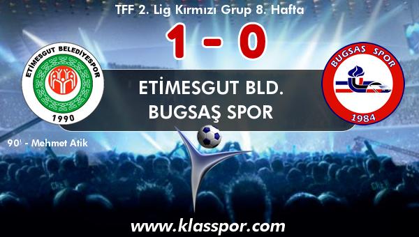 Etimesgut Bld. 1 - Bugsaş Spor 0