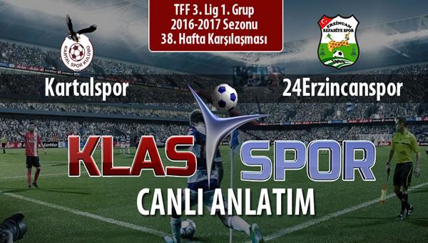İşte Kartalspor - Anagold 24Erzincanspor maçında ilk 11'ler