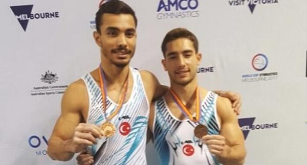Ferhat Arıcan ve İbrahim Çolak'tan madalya