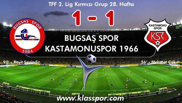 Bugsaş Spor 1 - Kastamonuspor 1966 1