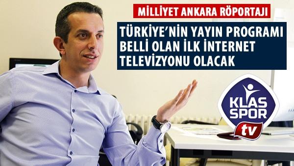 Klasspor Tv projesi, Milliyet Ankara'da anlatıldı