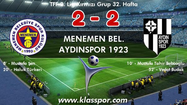 Menemen Bel. 2 - Aydınspor 1923 2