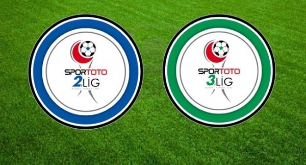 Spor Toto 2. ve 3. Lig'de sonuçlar
