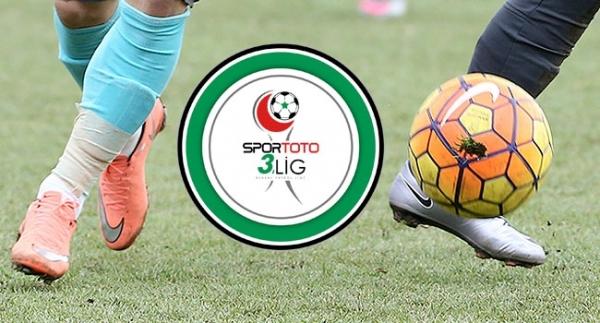 Spor Toto 3. Lig'de hafta içi mesaisi