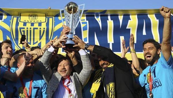 2. Lig'in en başarılısı MKE Ankaragücü