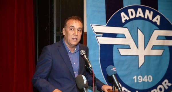 Adana Demirspor'un yeni başkanı seçti