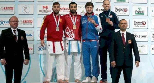 Türkiye, karatede Avrupa'nın zirvesinde