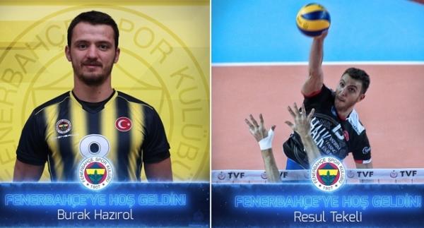 Fenerbahçe'de 2 transfer birden