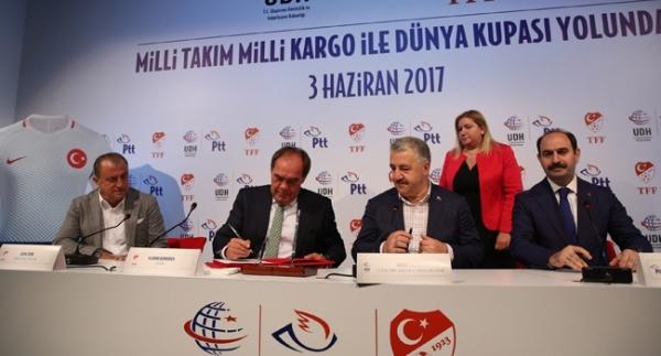 TFF ile PTT arasında sponsorluk anlaşması