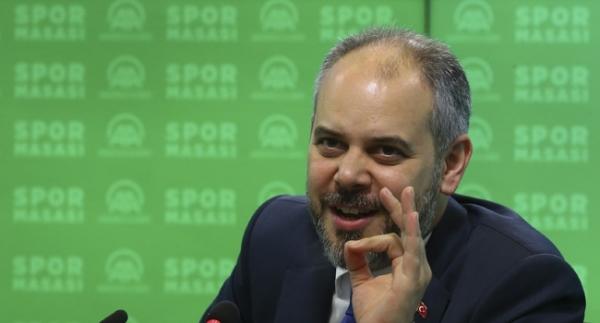 """Bakan Kılıç'tan sporculara """"145"""" müjdesi"""