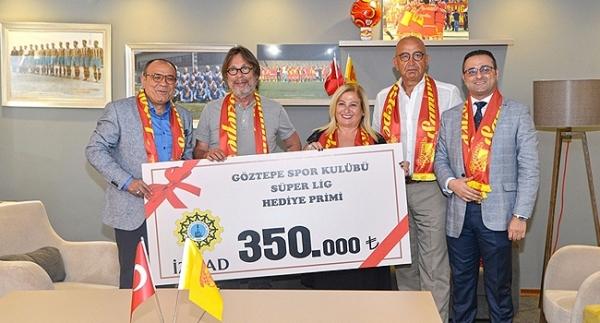 Göztepe'ye Süper Lig'e çıkma hediyesi!