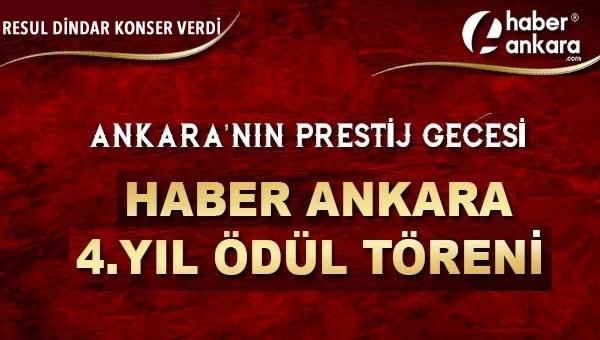 Haber Ankara, ödül töreni ile başarısını taçlandırdı