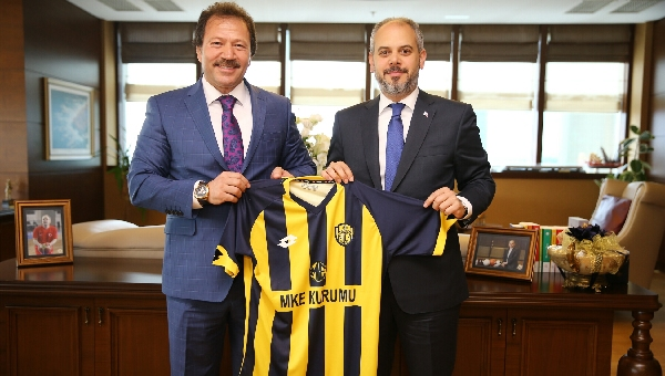Mehmet Yiğiner'den Bakan Kılıç'a ziyaret