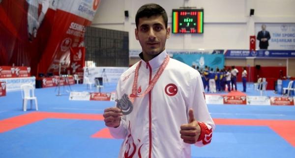 Milli karateciden altın madalya sözü
