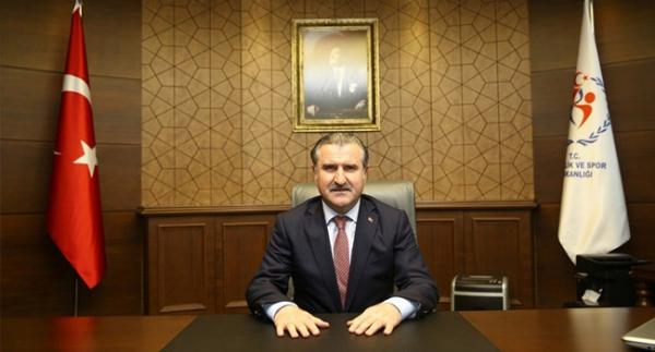 Bakan Bak, Evin Demirhan'ı kutladı