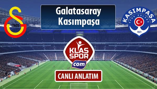 İşte Galatasaray - Kasımpaşa maçında ilk 11'ler