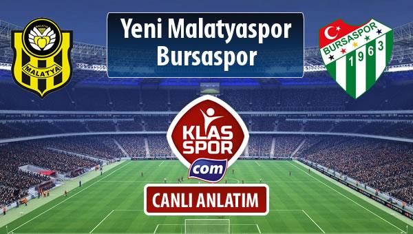 İşte Evkur Y.Malatyaspor - Bursaspor maçında ilk 11'ler