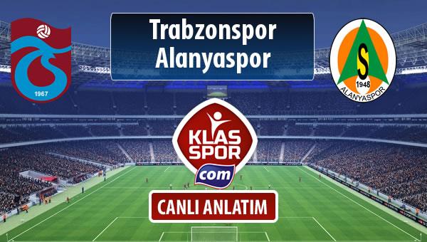 Trabzonspor - Alanyaspor maç kadroları belli oldu...