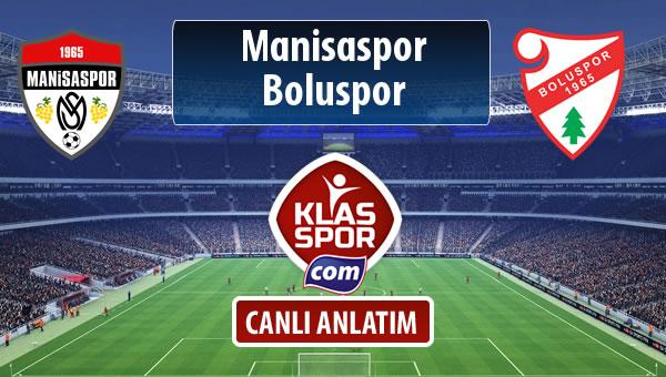 İşte Manisaspor - Boluspor maçında ilk 11'ler
