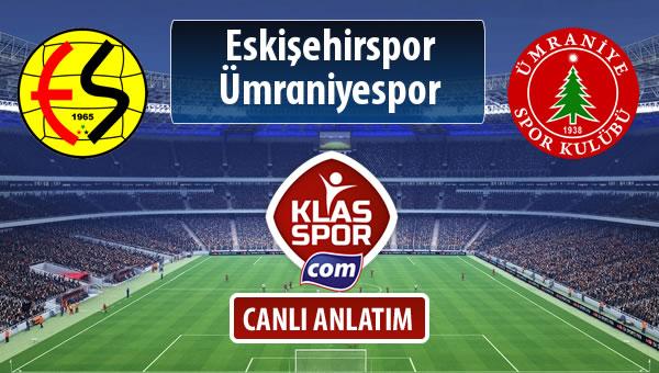 Eskişehirspor - Ümraniyespor maç kadroları belli oldu...