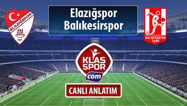 Elazığspor - Balıkesirspor Baltok maç kadroları belli oldu...