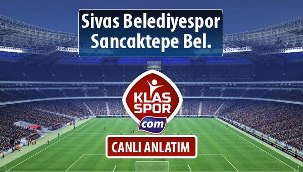 İşte Sivas Belediyespor - Sancaktepe Bel. maçında ilk 11'ler