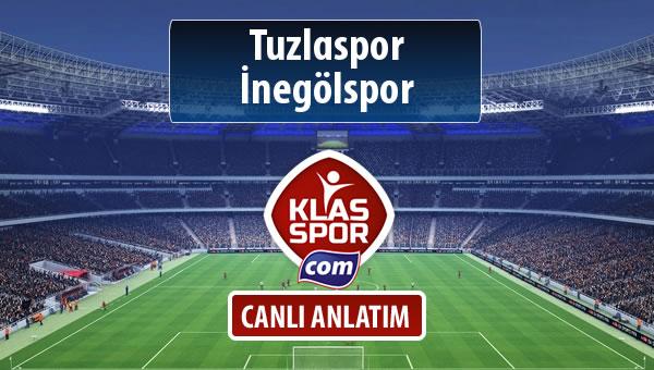 İşte Tuzlaspor - İnegölspor maçında ilk 11'ler