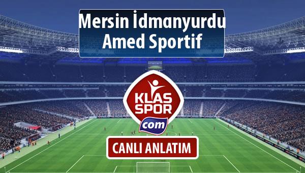 Mersin İdmanyurdu - Amed Sportif maç kadroları belli oldu...