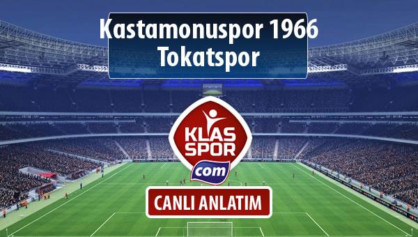 Kastamonuspor 1966 - Tokatspor sahaya hangi kadro ile çıkıyor?