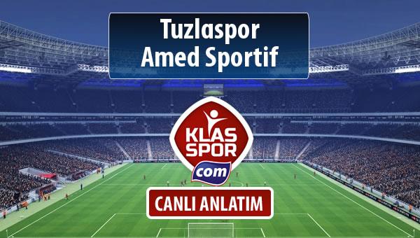 İşte Tuzlaspor - Amed Sportif maçında ilk 11'ler