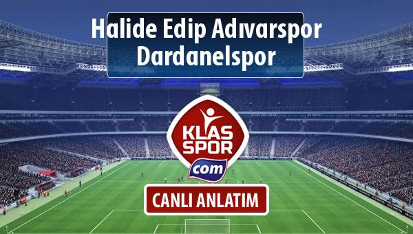 İşte Halide Edip Adıvarspor - Dardanelspor maçında ilk 11'ler